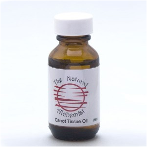 Carrot Herbal Extract infused Oil 50mL