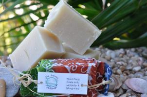 Olive Oil Ylang & Lavender soap